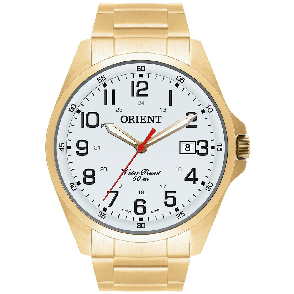 2e196c69e7a Relógios Web Shop Relógio Orient Masculino Ref  Mgss1048 S2kx Classico  Dourado