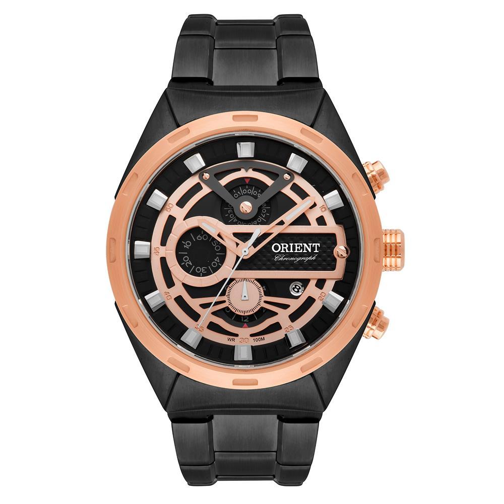 310e50dd4a Relógios Web Shop Relógio Orient Masculino Ref  Mpssc012 P1px Cronógrafo  Black