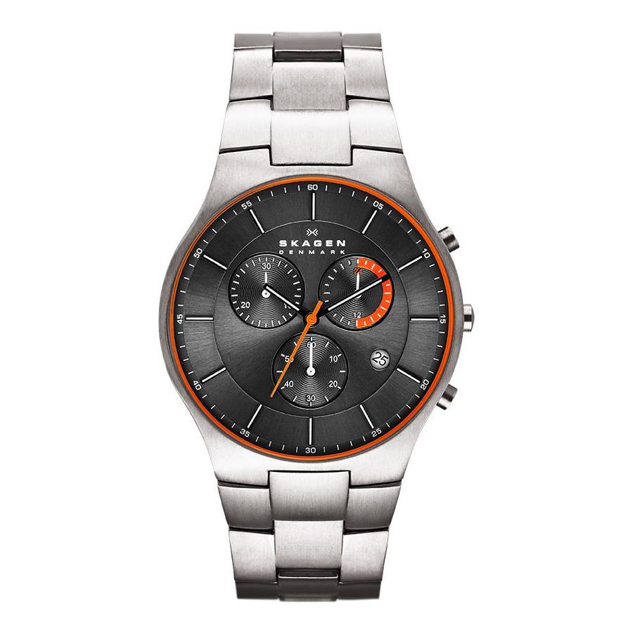 Relógio Skagen Masculino Ref  Skw6076 1pn Slim Titânio - Relógios Web Shop  ... 11d2b57092