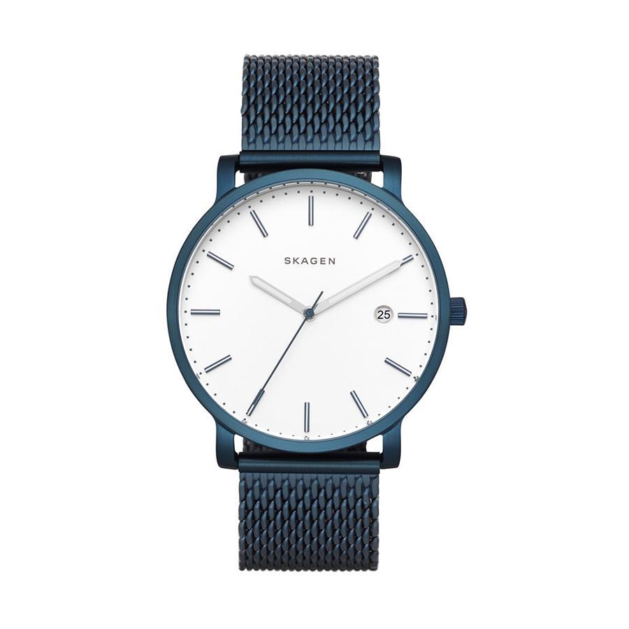 Relógio Skagen Masculino Ref  Skw6326 4bn Slim Azul Pulseira Mesh - Relógios  Web Shop ... 759f12c228