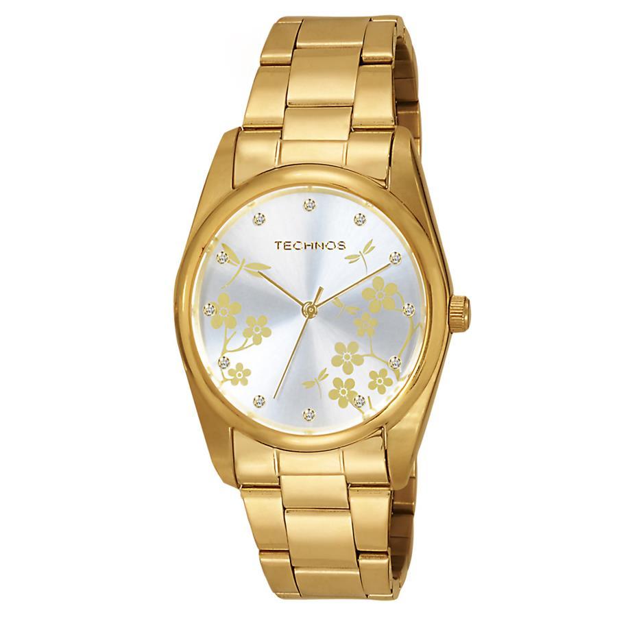 6728eca6189 Relógio Technos Feminino Ref  2035bbu 4b Dourado - Relógios Web Shop