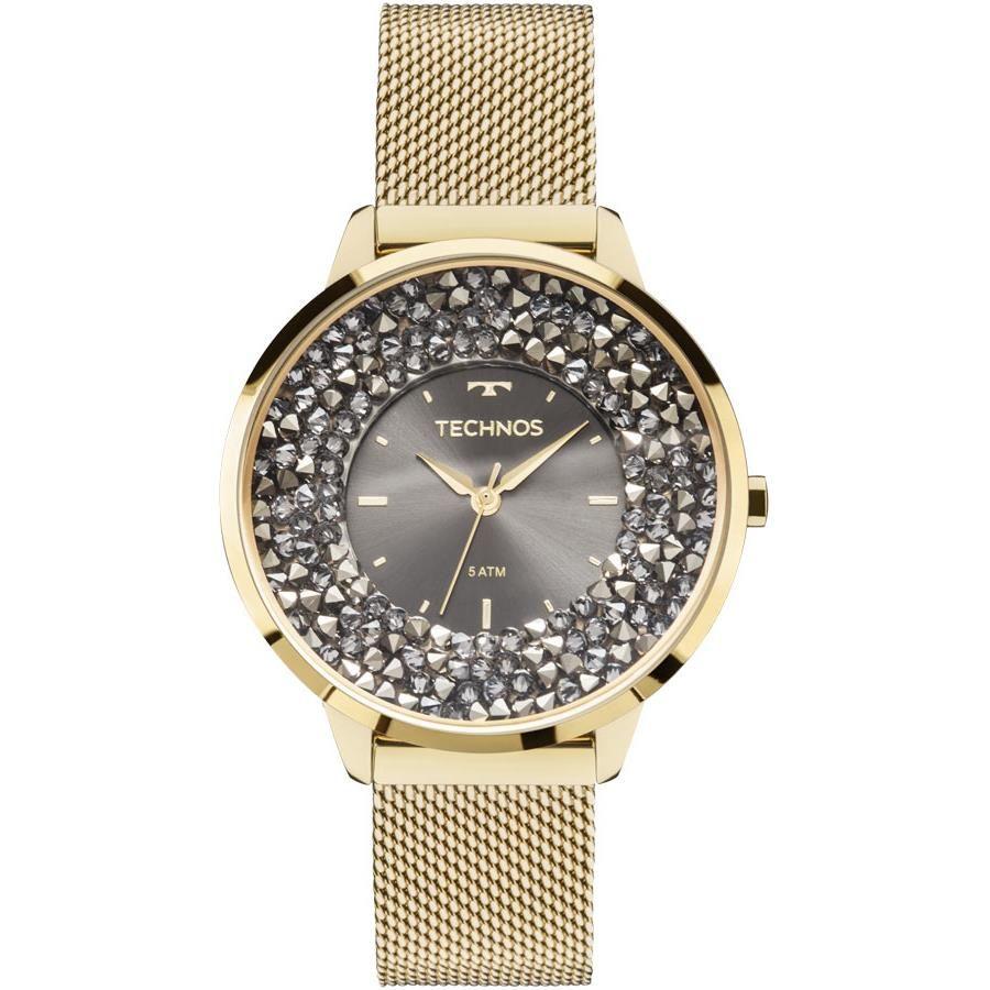 9846e107c6da8 Relógios Web Shop Relógio Technos Feminino Ref  2035mlg 4c Slim Dourado