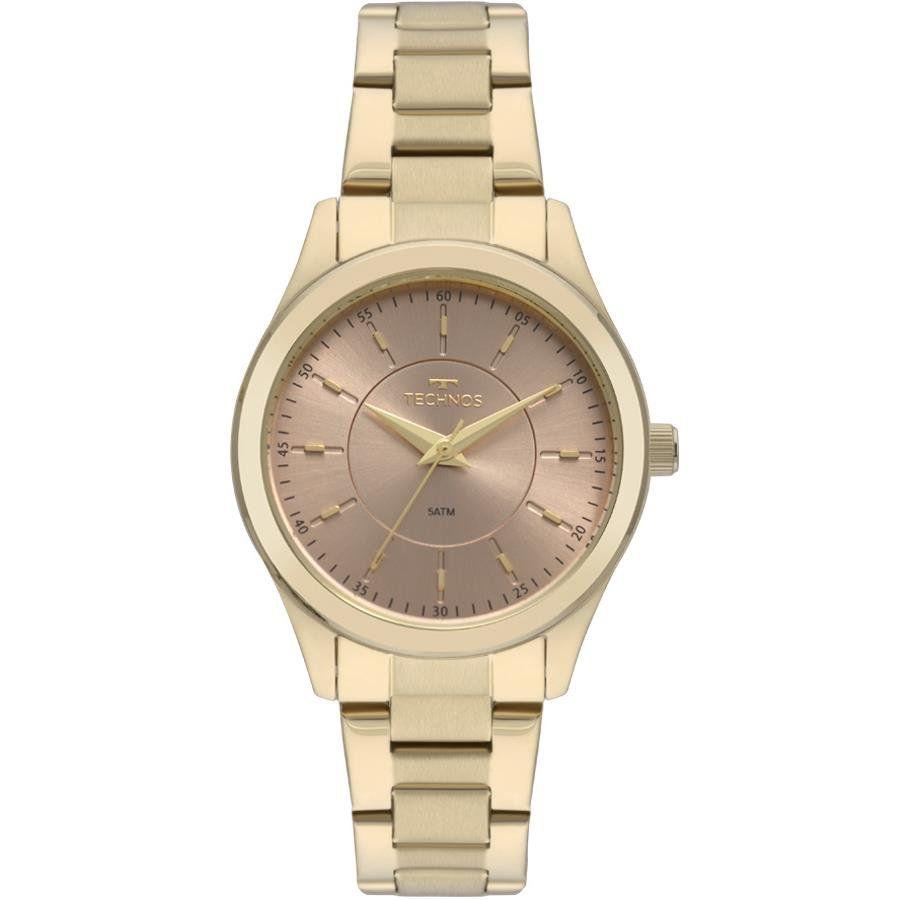 30f5e05134e2a Relógios Web Shop Relógio Technos Feminino Ref  2035mns 4j Social Dourado