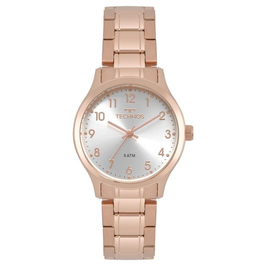 4a513944ef0e0 Relógios Web Shop Relógio Technos Feminino Ref  2035mpg 4k Elegance Rosé