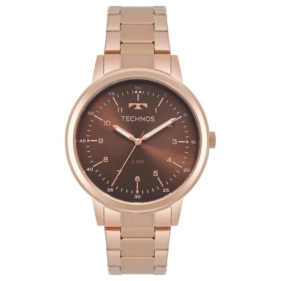 Relógios Web Shop Relógio Technos Feminino Ref  2035mpp 4m Elegance Rosé 7a4ff69d72