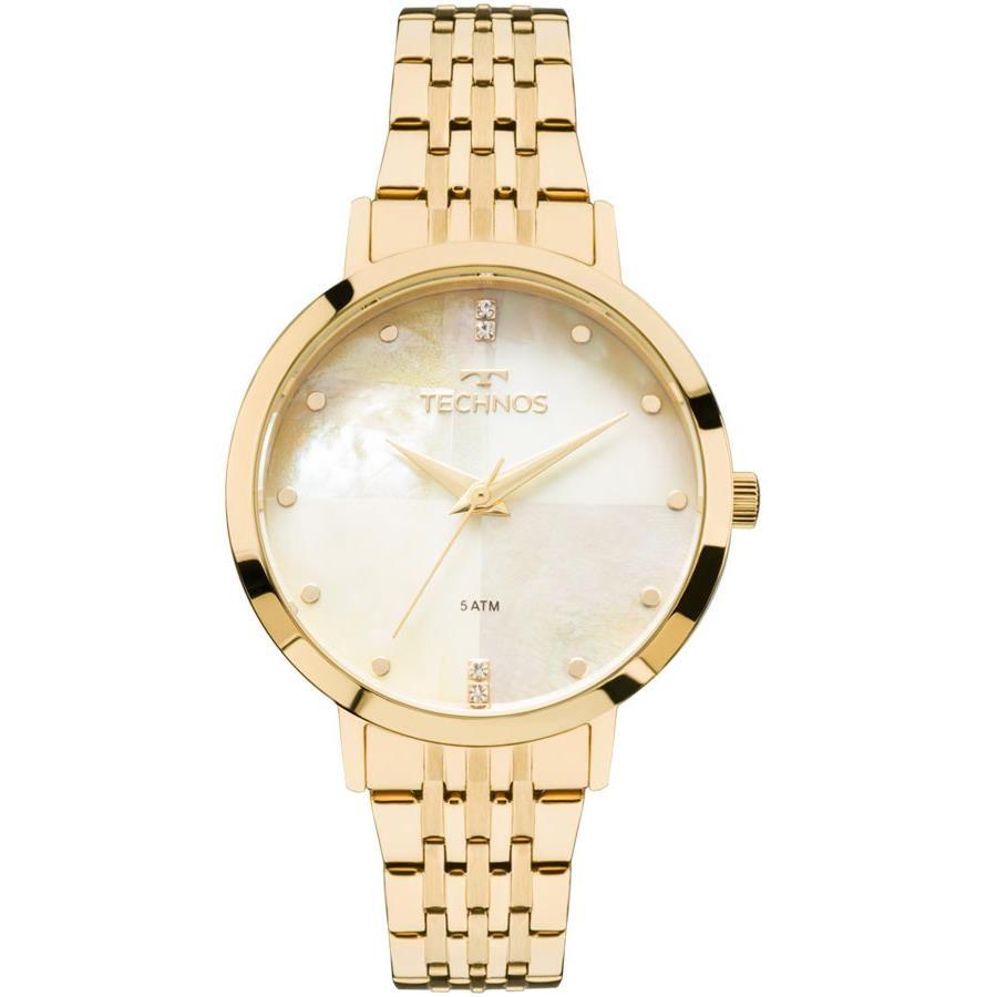 9c45f98914b69 Relógio Technos Feminino Ref  2036mjg 4b Fashion Dourado - Relógios Web Shop