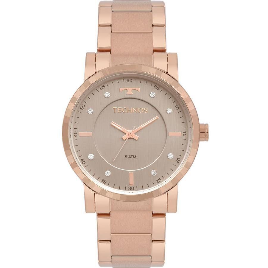 db18d929b8f90 Relógios Web Shop Relógio Technos Feminino Ref  2036mjq 4c Fashion Rosé
