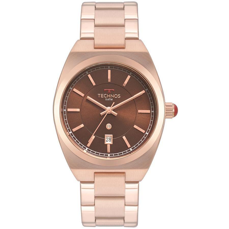 9acbab3844b6a Relógios Web Shop Relógio Technos Feminino Ref  2117lau 4m Fashion Rosé