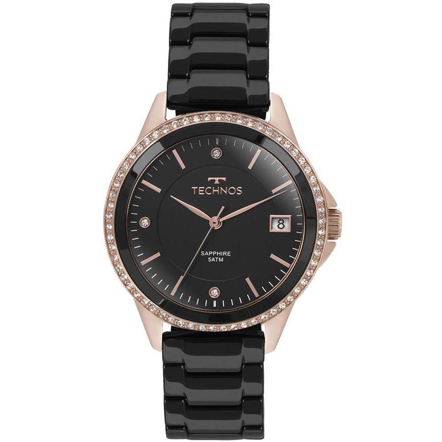 Relógio Technos Feminino Ref  2315kzr 4p Social Rosé - Relógios Web Shop 9463111b2e