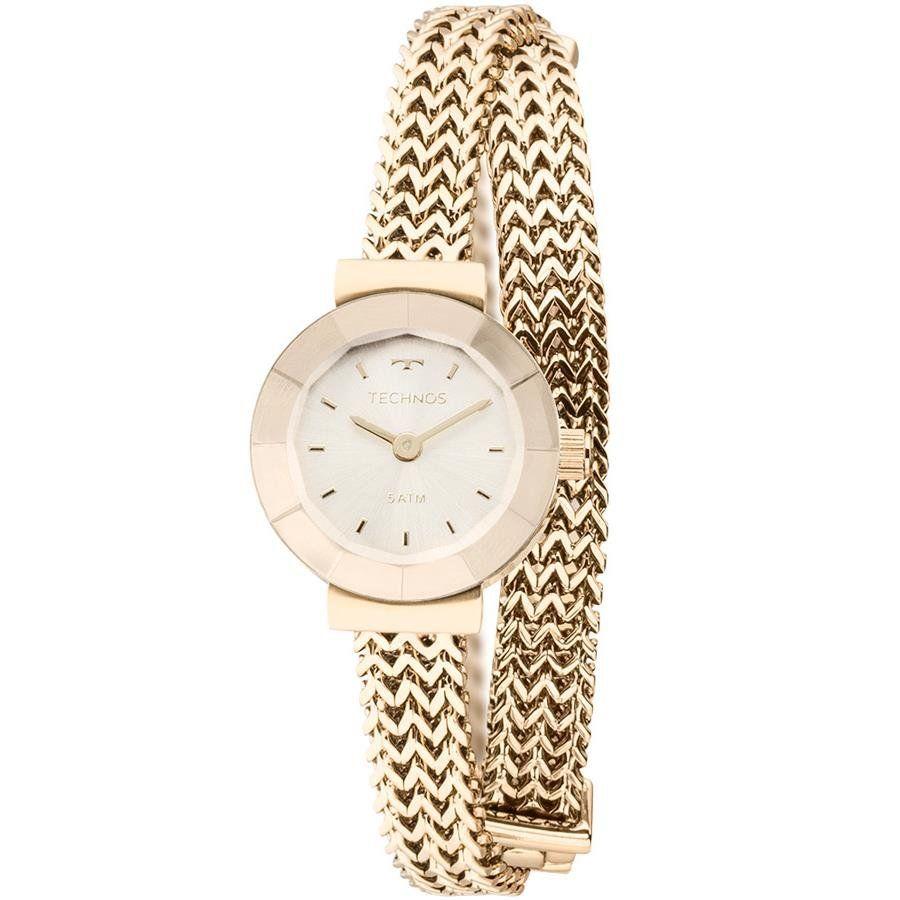 afab276ed0a Relógios Web Shop Relógio Technos Feminino Ref  5y20ip 4x Mini Dourado