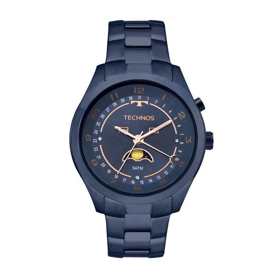 2727cf3a7a1 Relógio Technos Feminino Ref  6p80ae 4a Calend. Lunar - Relógios Web Shop  ...
