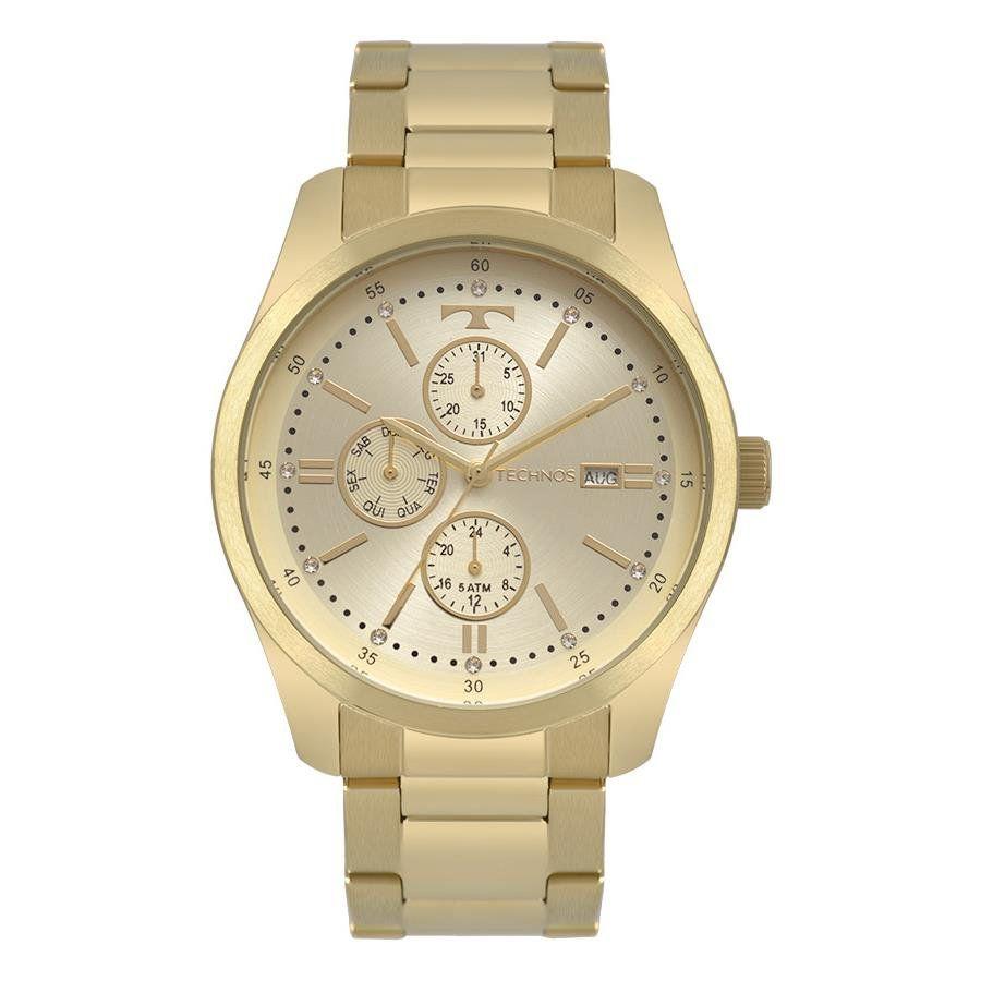 Relógios Web Shop Relógio Technos Feminino Ref  6p89hy 4x Trend Dourado f483ca8cf5