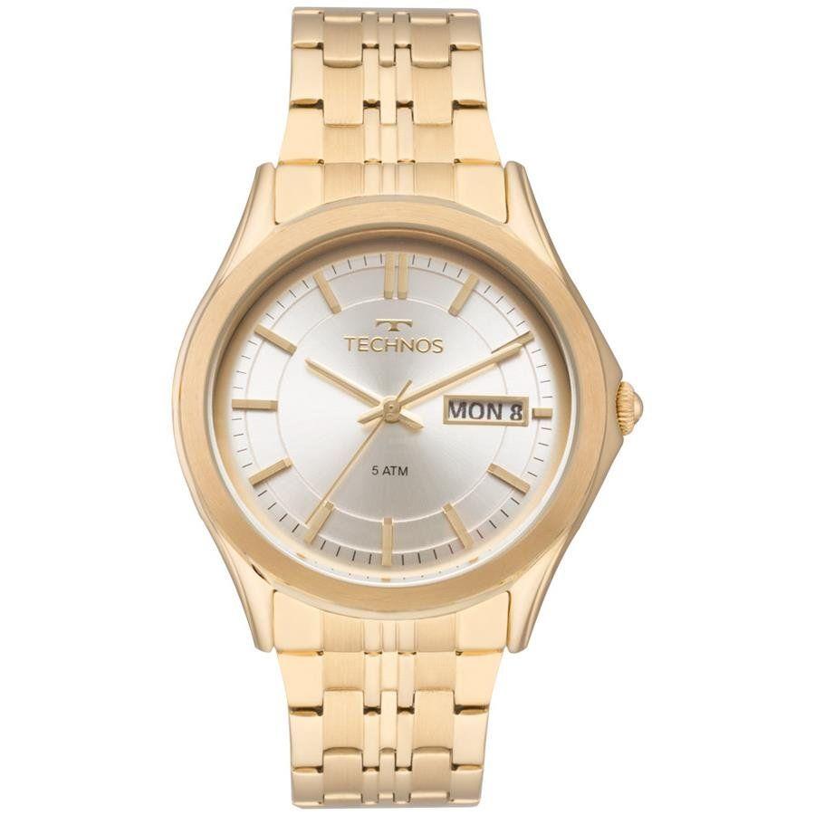 61805da592f35 Relógios Web Shop Relógio Technos Feminino Ref  8205oc 4k Automático Dourado