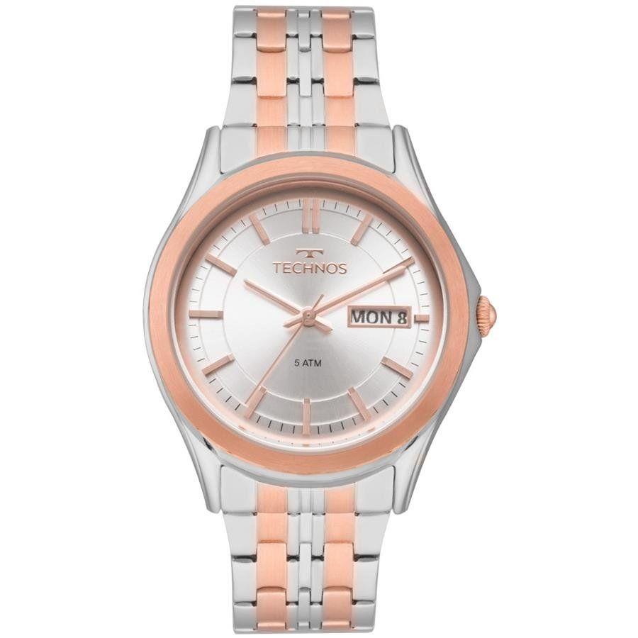 ba5c64c2ee4 Relógios Web Shop Relógio Technos Feminino Ref  8205od 5k Automático Bicolor