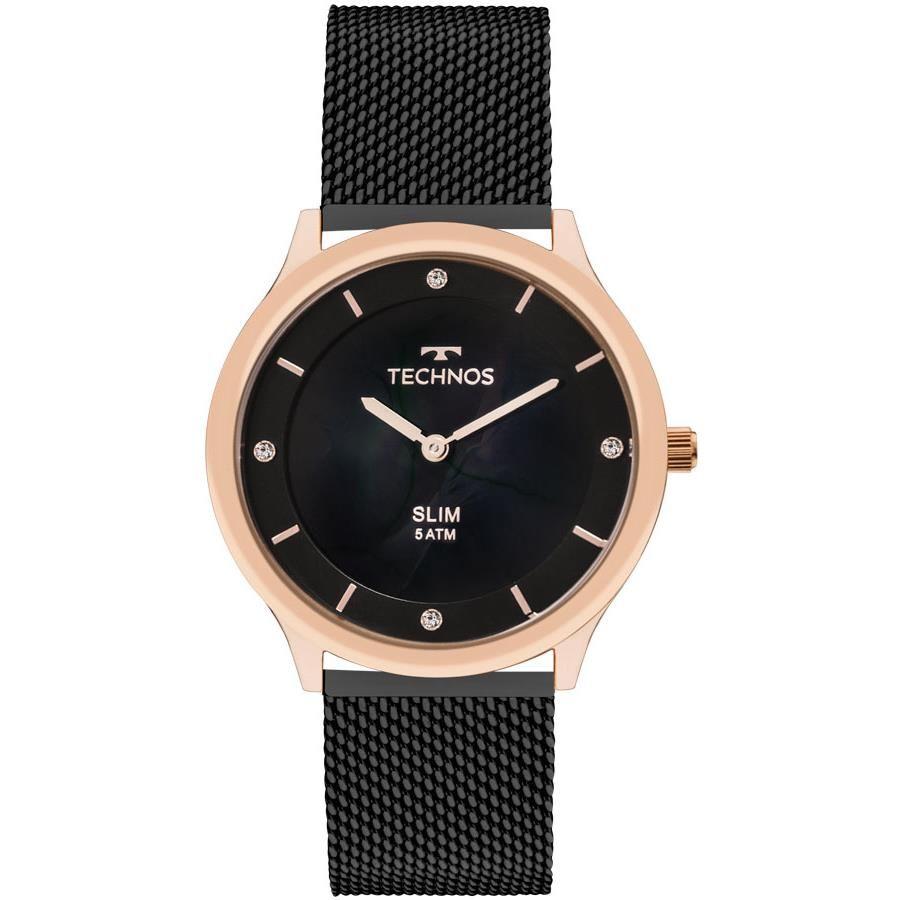 Relógio Technos Feminino Ref  Gl20hi 4p Slim Rosê - Relógios Web Shop e797855b6e