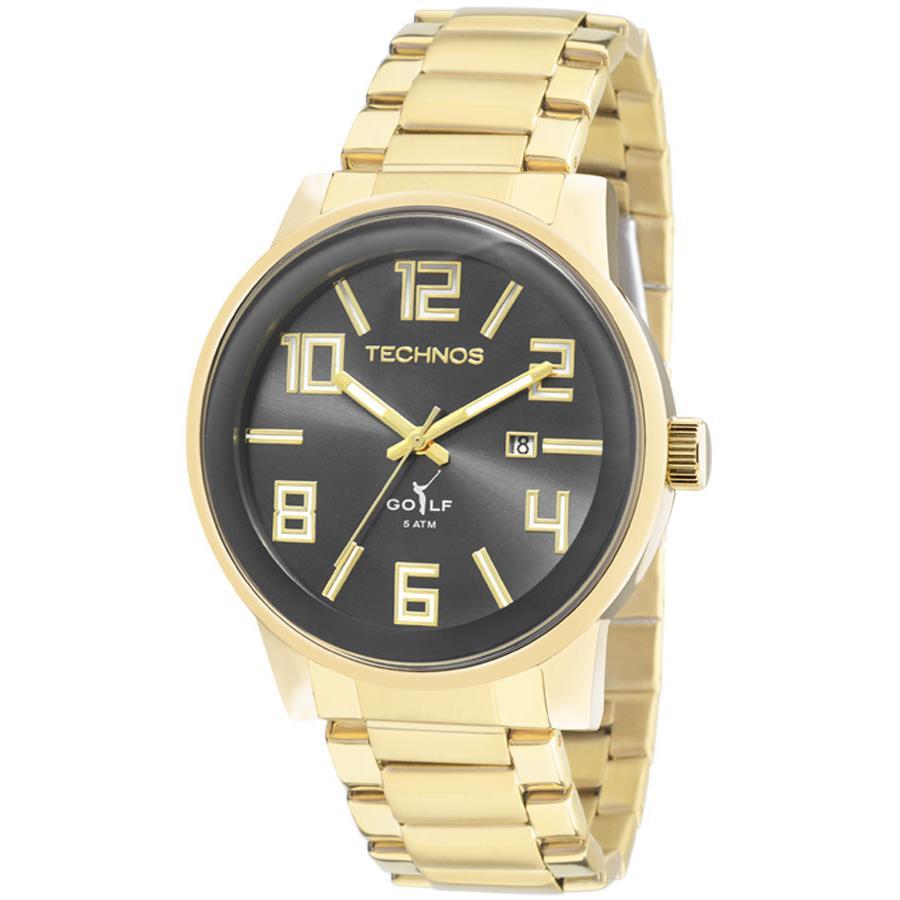 Relógio Technos Golf Masculino Ref  2115kqu 4c da181ad0e8