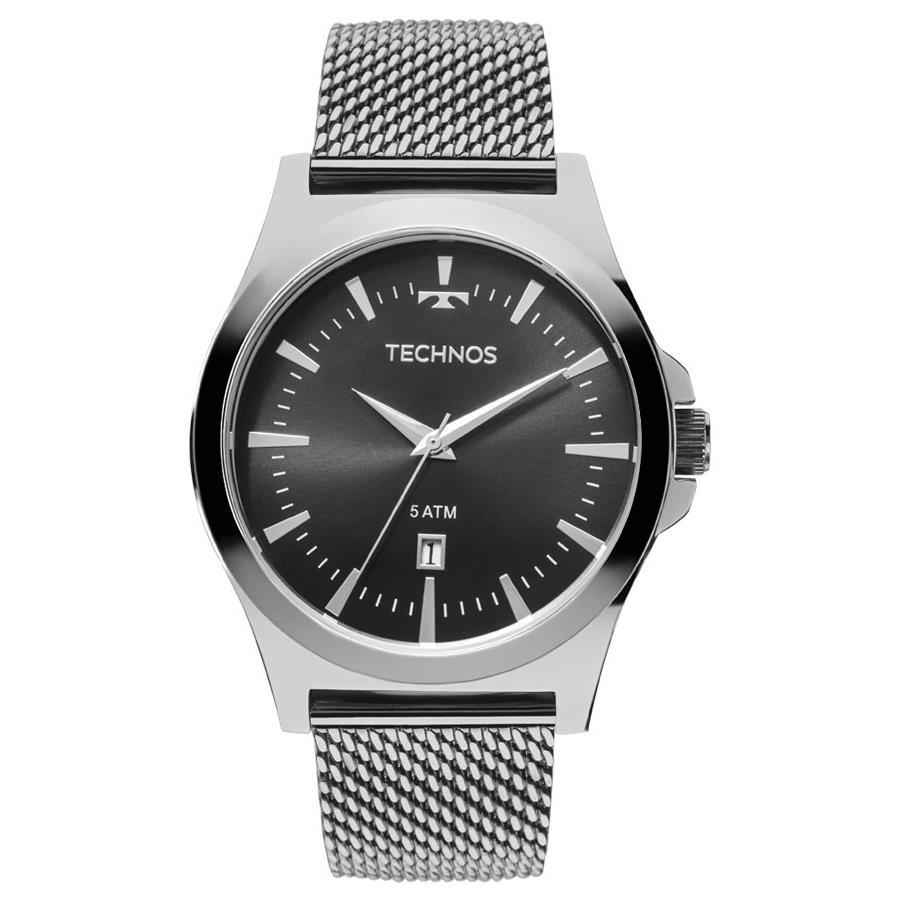 067aaa35ab5 Relógios Web Shop Relógio Technos Masculino Ref  2115lal 0p Pulseira Esteira