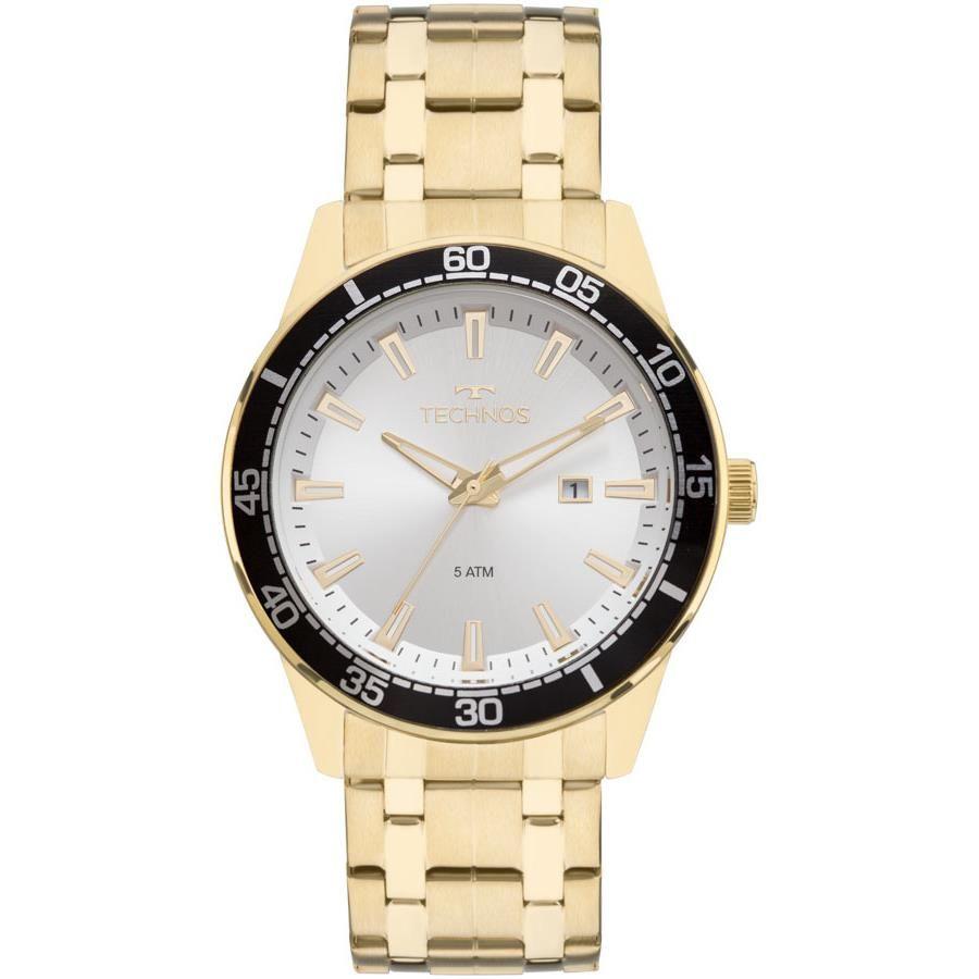8bfc74f084fbb Relógios Web Shop Relógio Technos Masculino Ref  2115mmy 4k Casual Dourado