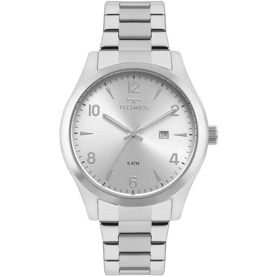 192af381f5a Relógios Web Shop Relógio Technos Masculino Ref  2115mrb 1k Steel Prata