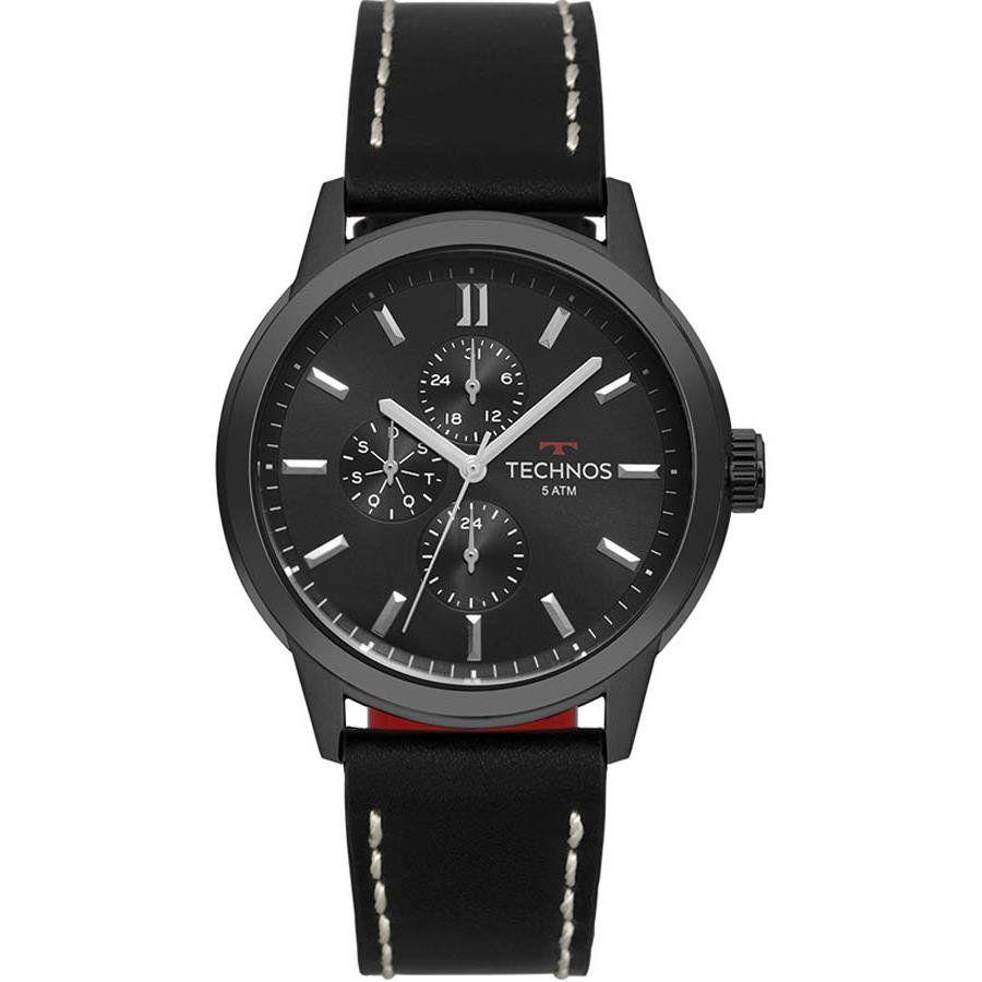 Relógios Web Shop Relógio Technos Masculino Ref  6p27dr 2p GrandTech Preto 8b928aa2f1
