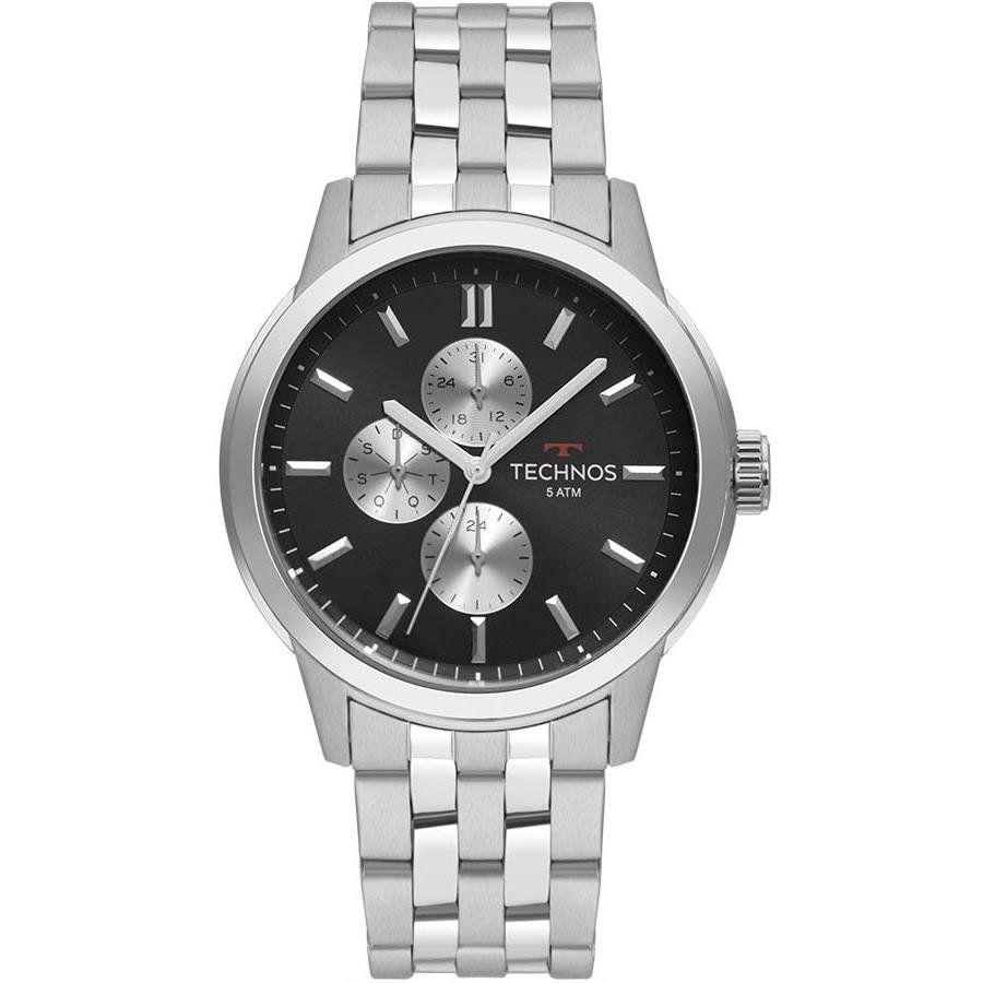9a00e629eef Relógios Web Shop Relógio Technos Masculino Ref  6p27ds 1c GrandTech Prata