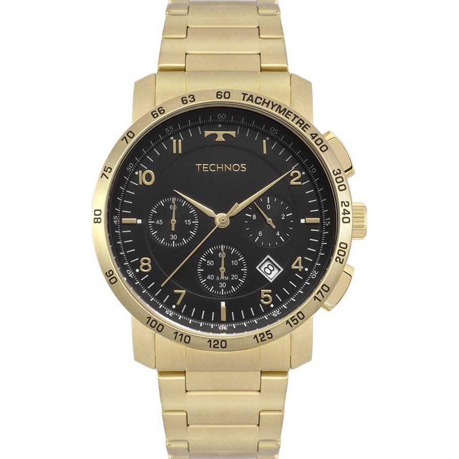 913b1c29789 Relógios Web Shop Relógio Technos Masculino Ref  6s20aa 4p SkyMaster  Cronógrafo Dourado