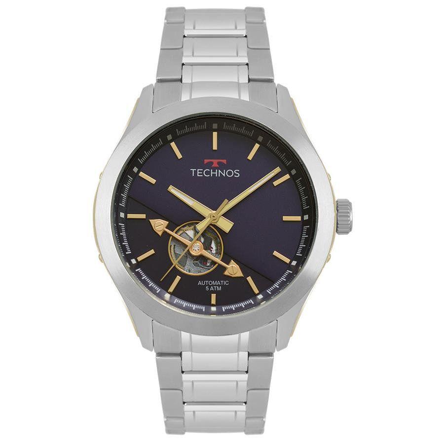9c2b12458e0 Relógios Web Shop Relógio Technos Masculino Ref  82s0ae 1a Automático Prata