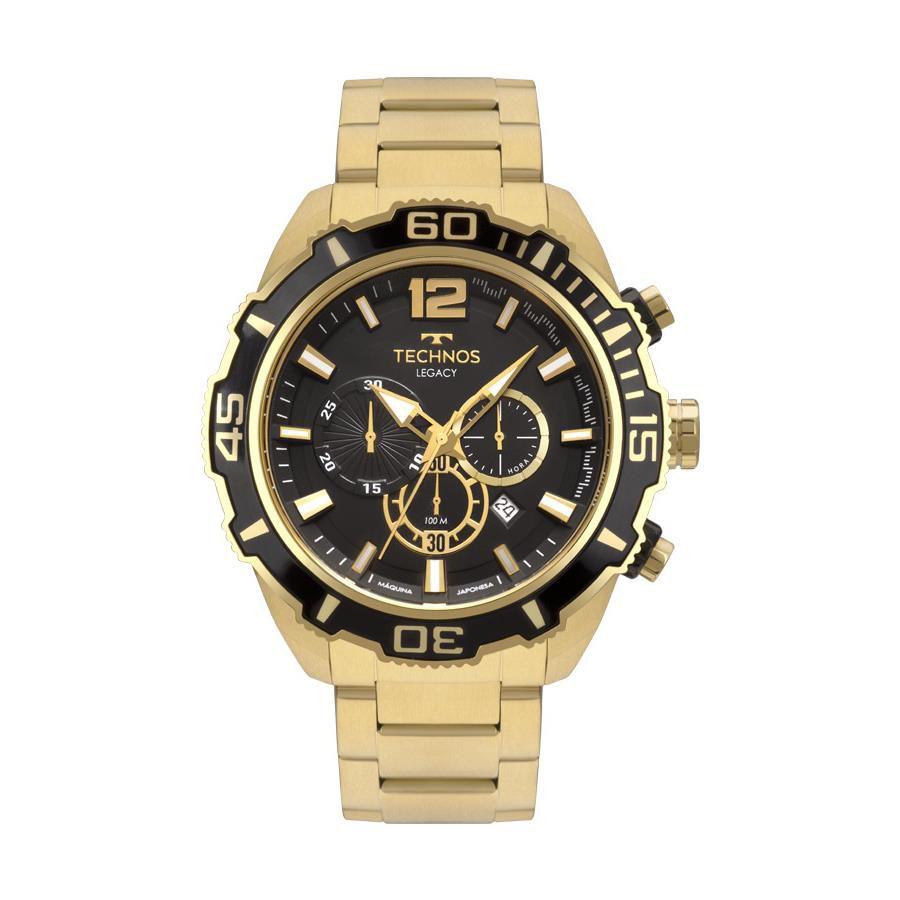 c3c0811b1b7 Relógio Technos Masculino Ref  Js26aq 4p Legacy Dourado - Relógios Web Shop