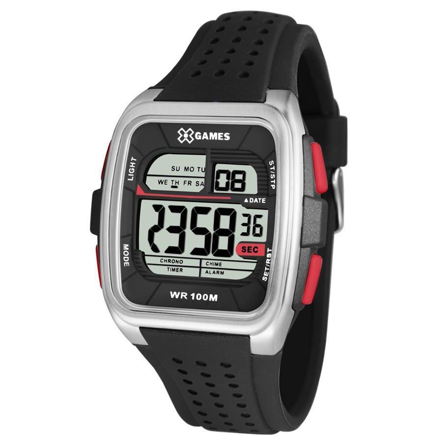 Relógios Web Shop Relógio X Games Masculino Ref  Xgppd104 Bxpx Retangular  Digital 5980646609