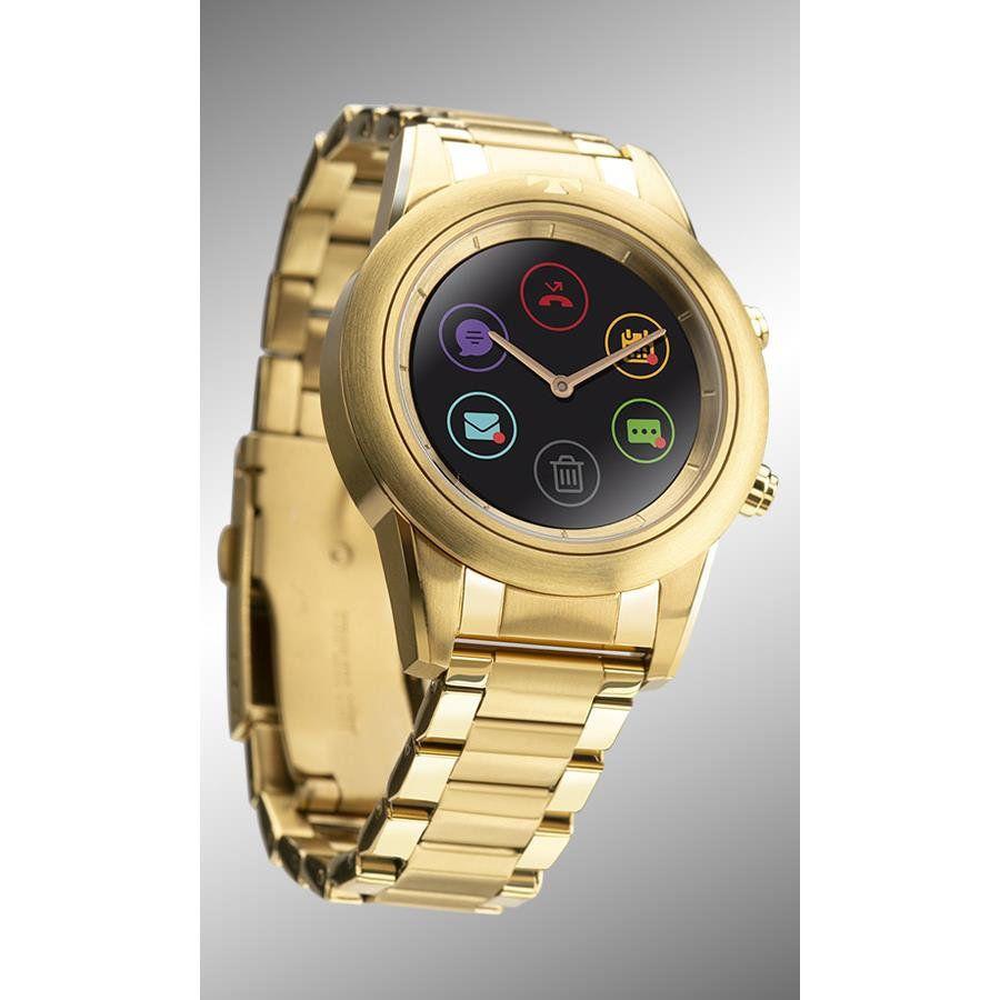 65b8a8e10d7 ... Smartwatch Technos Feminino Ref  P01ac 4p Connect Duo Dourado - Relógios  Web Shop