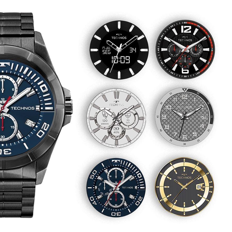 71e7f1c84c756 ... Smartwatch Technos Connect Ref  Srac 4p Black Touch Full Display - Relógios  Web Shop