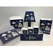 Kit Higiene 8 Peças Marinheiro Personalizado