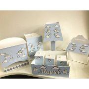 Kit Higiene 8 Peças Ursinho Aviador Personalizado
