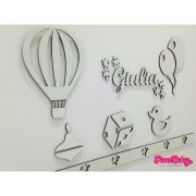 Kit Painel de Parede Brinquedos Baby MDF CRU