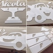 Kit Painel de Parede Carros Personalizado ACRÍLICO