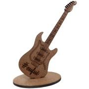 Lembrancinhas de Mesa Guitarra 15cm - MDF CRU