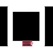 Porta Retrato Vertical Personalizado Logotipo Corporativo MDF BRANCO
