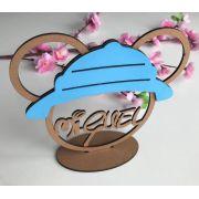 Ref. 010 - Lembrancinhas de Mesa 10cm Safári do Mickey MDF Cru e Colorido