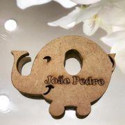 Ref. 016 - Ímãs de Geladeira Elefante MDF Cru Lembrancinhas Nascimento Chá de Bebê