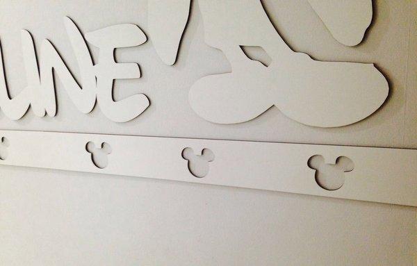 Faixa border de parede avulso Mickey/ Minnie 60cm