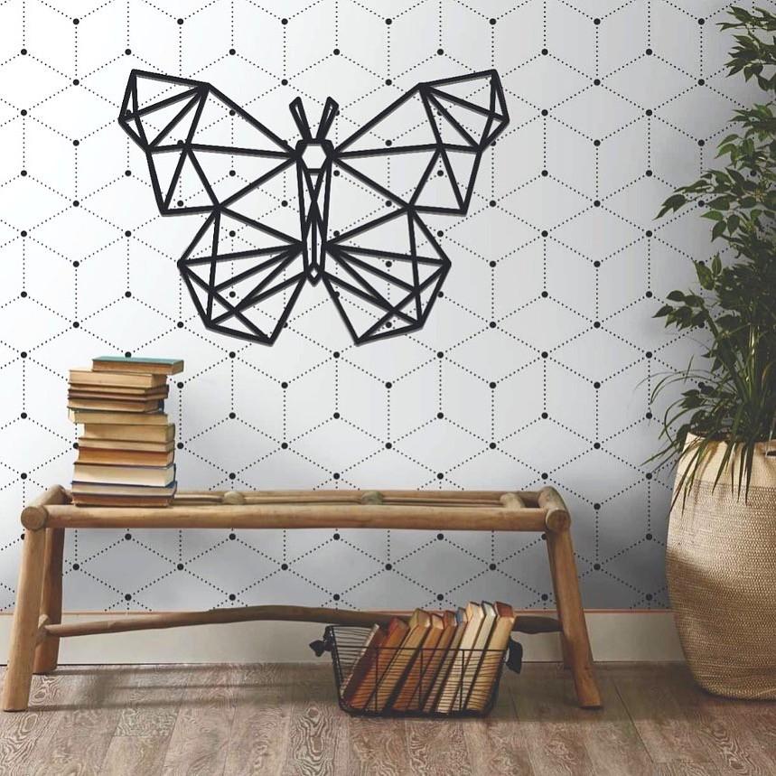 Aplique Decorativo Borboleta 60cm MDF Decoração Ambiente