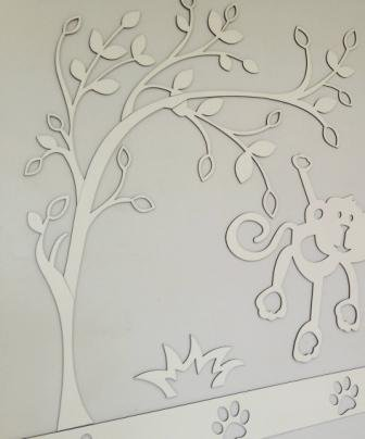 Árvore 90cm MDF Cores