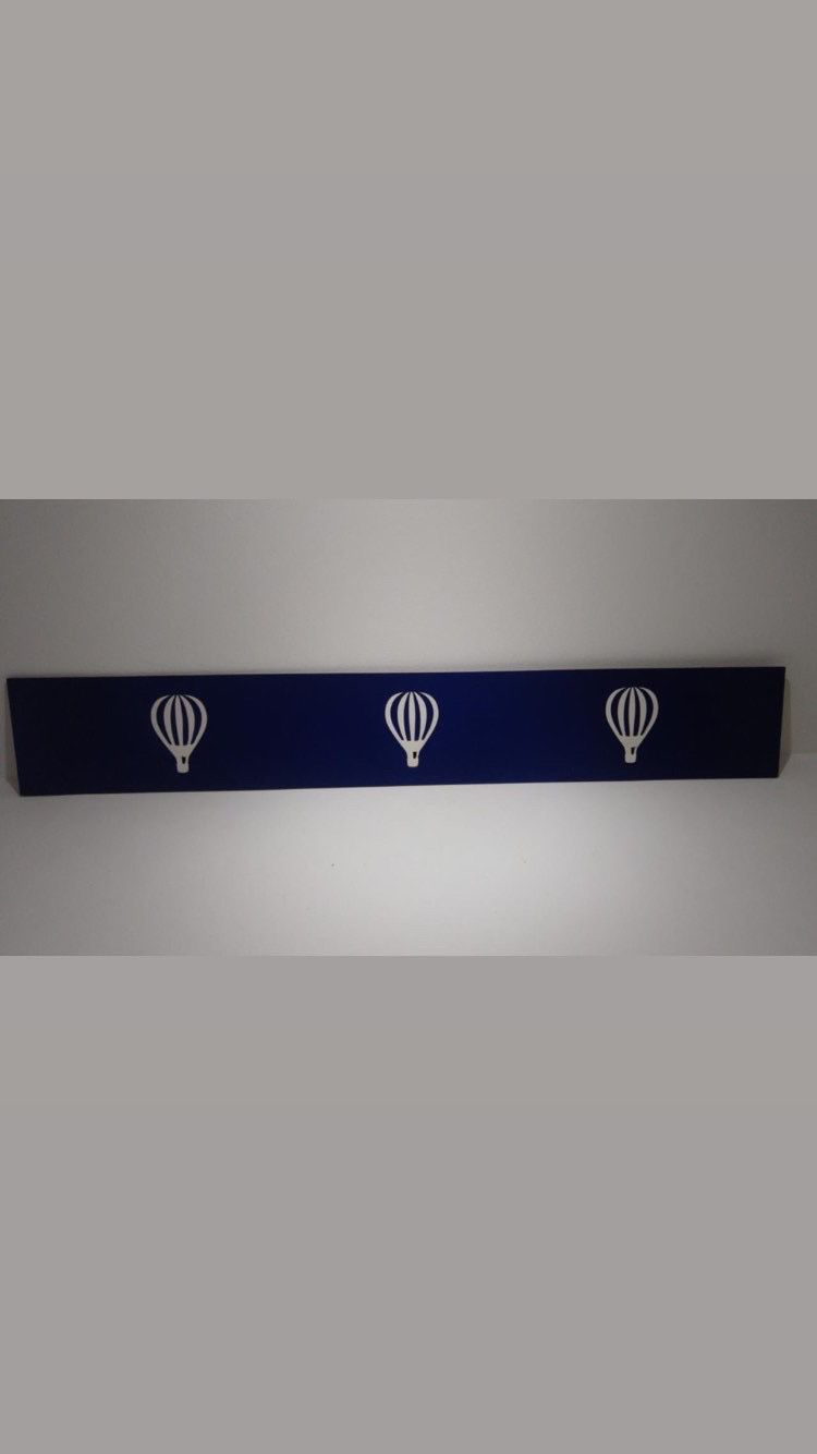 Faixa border de parede avulso Balões 60cm