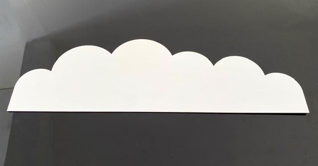 Faixa border de parede avulso Nuvem 60cm