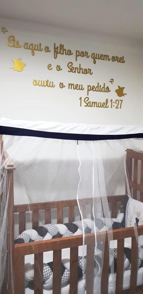 Kit Frase Bíblica Samuel 127 Eis Aqui O Filho Por Quem
