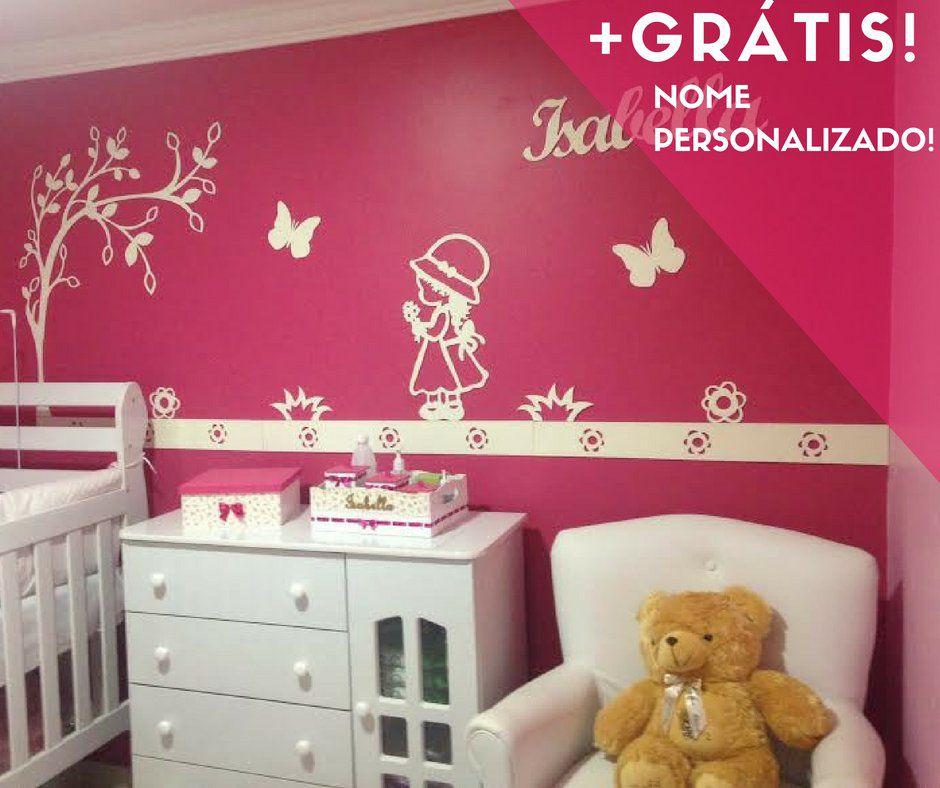 Kit Painel de Parede Camponesa Personalizado MDF Branco