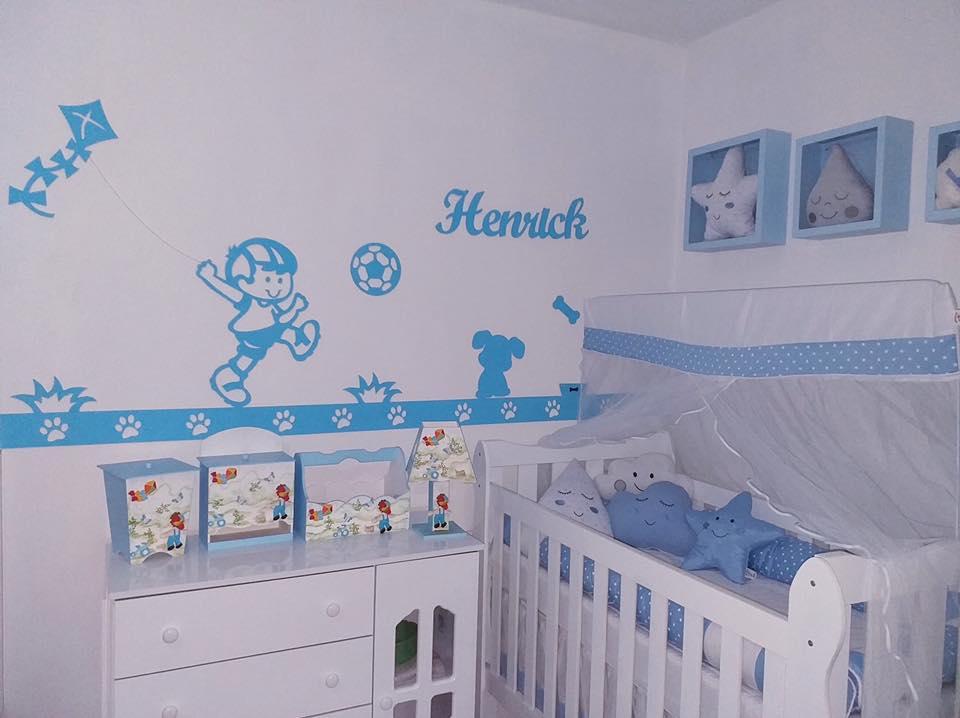 Kit Painel de Parede Completo Brinquedos Cachorrinho Personalizado  Decoração Quarto do Bebê
