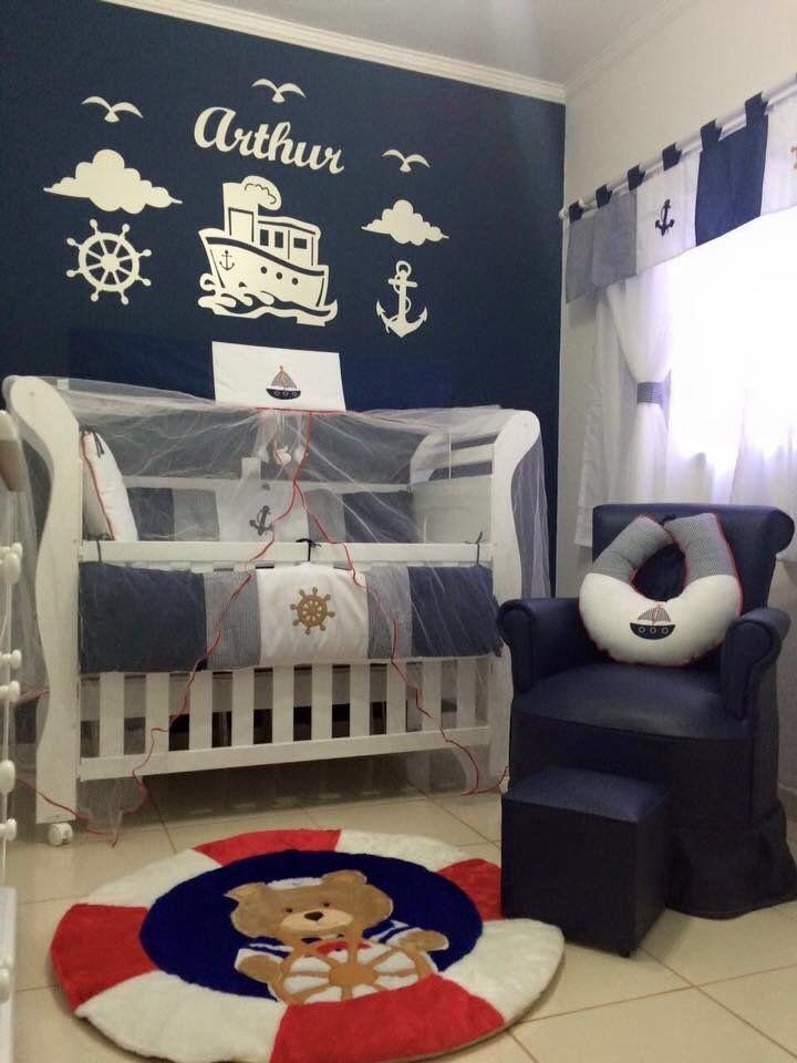 Kit Painel de Parede Marinheiro Personalizado MDF BRANCO