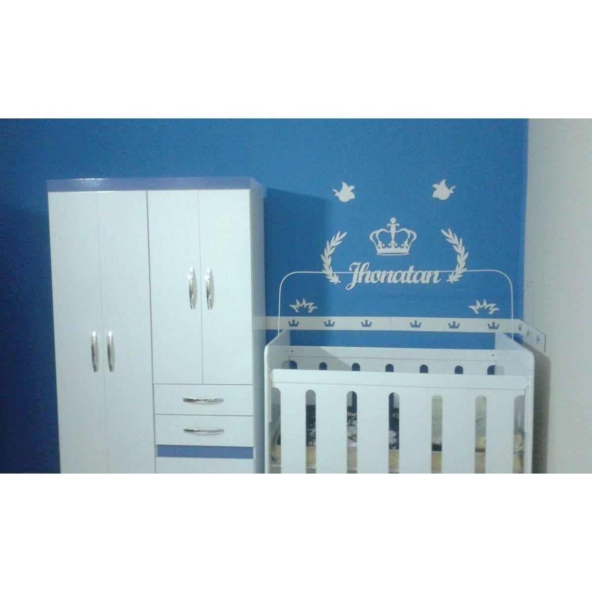 Kit Painel de Parede Completo 12 peças Príncipe Personalizado Decoração Bebê