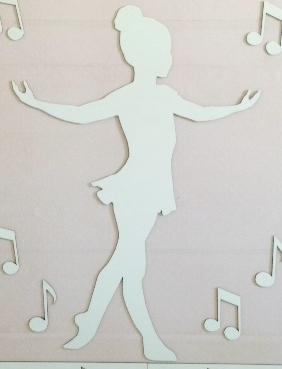 Menina Bailarina 65cm